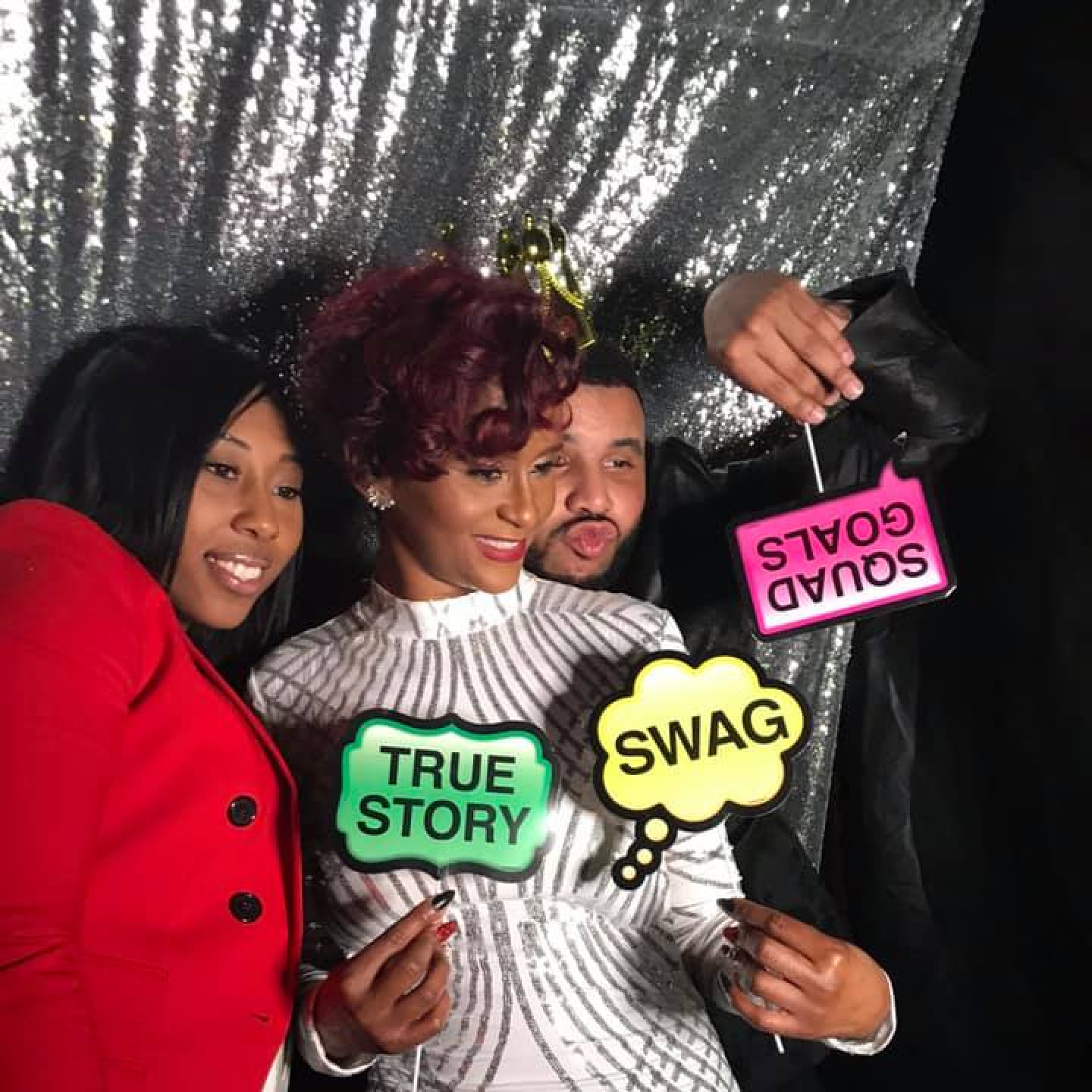 Rent the photo booth for the duration of your party
